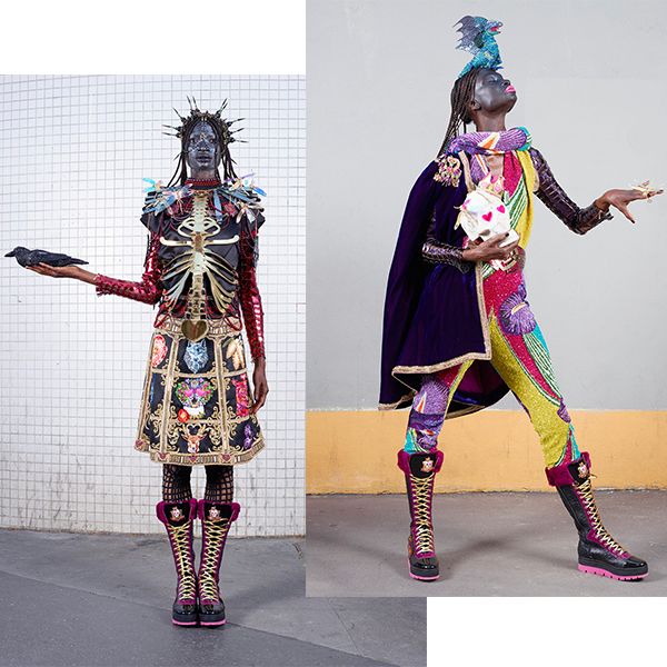 A 'Modern-Day Urban Warrior' Takes Over PFW 2015 - cause and