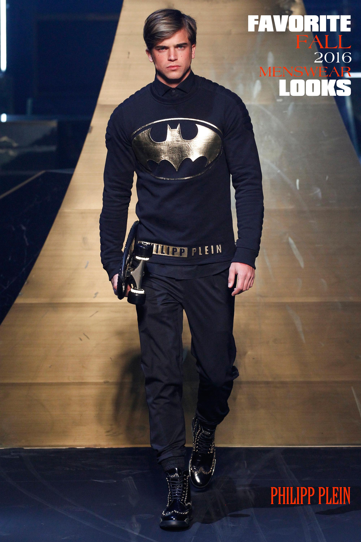superheroes, Philipp Plein Fall Menswear, Marcus Tondo, cause and yvette