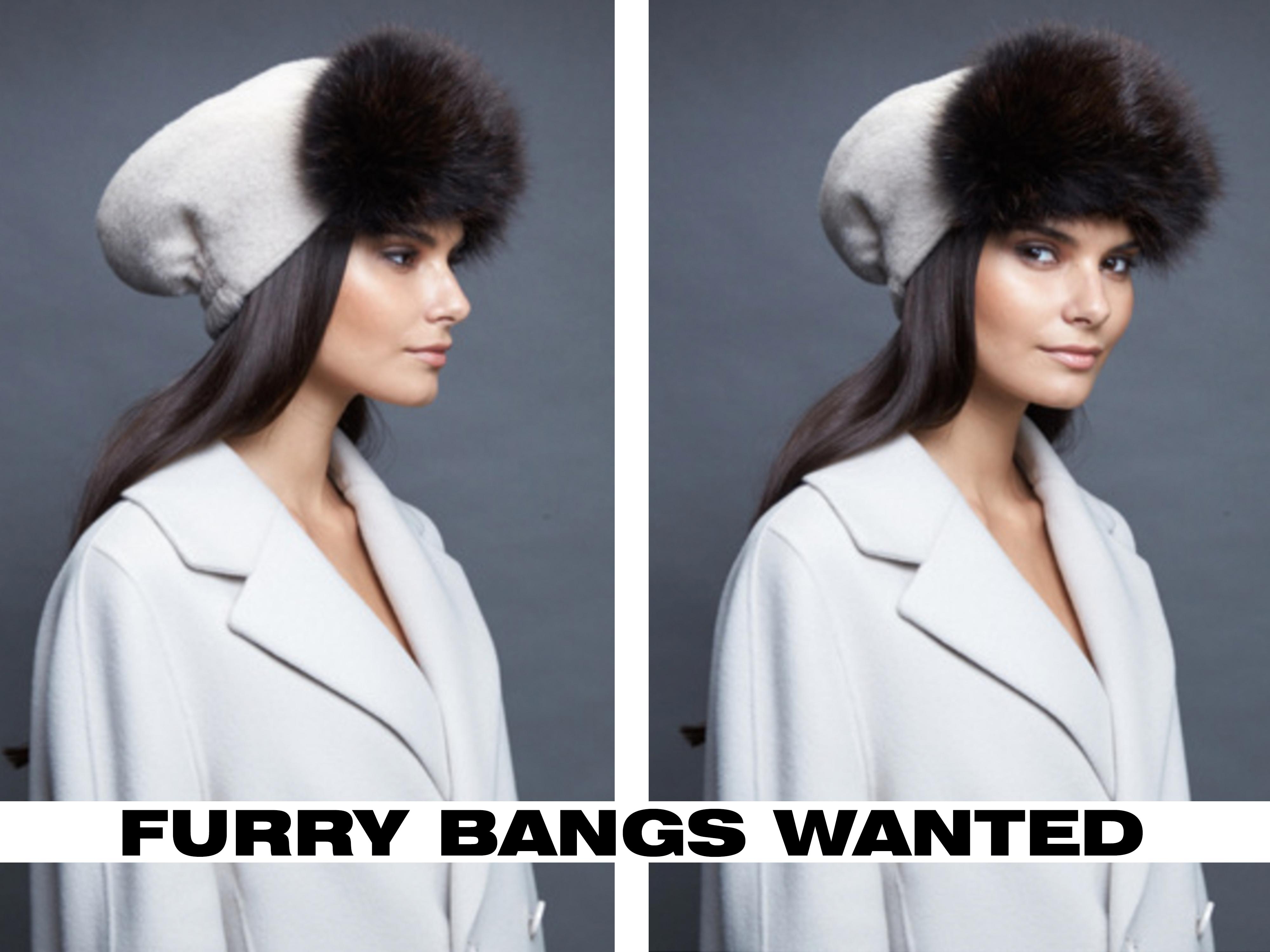 furry bangs, Palom Lite Hat, Head Wear Studio, cause and yvette