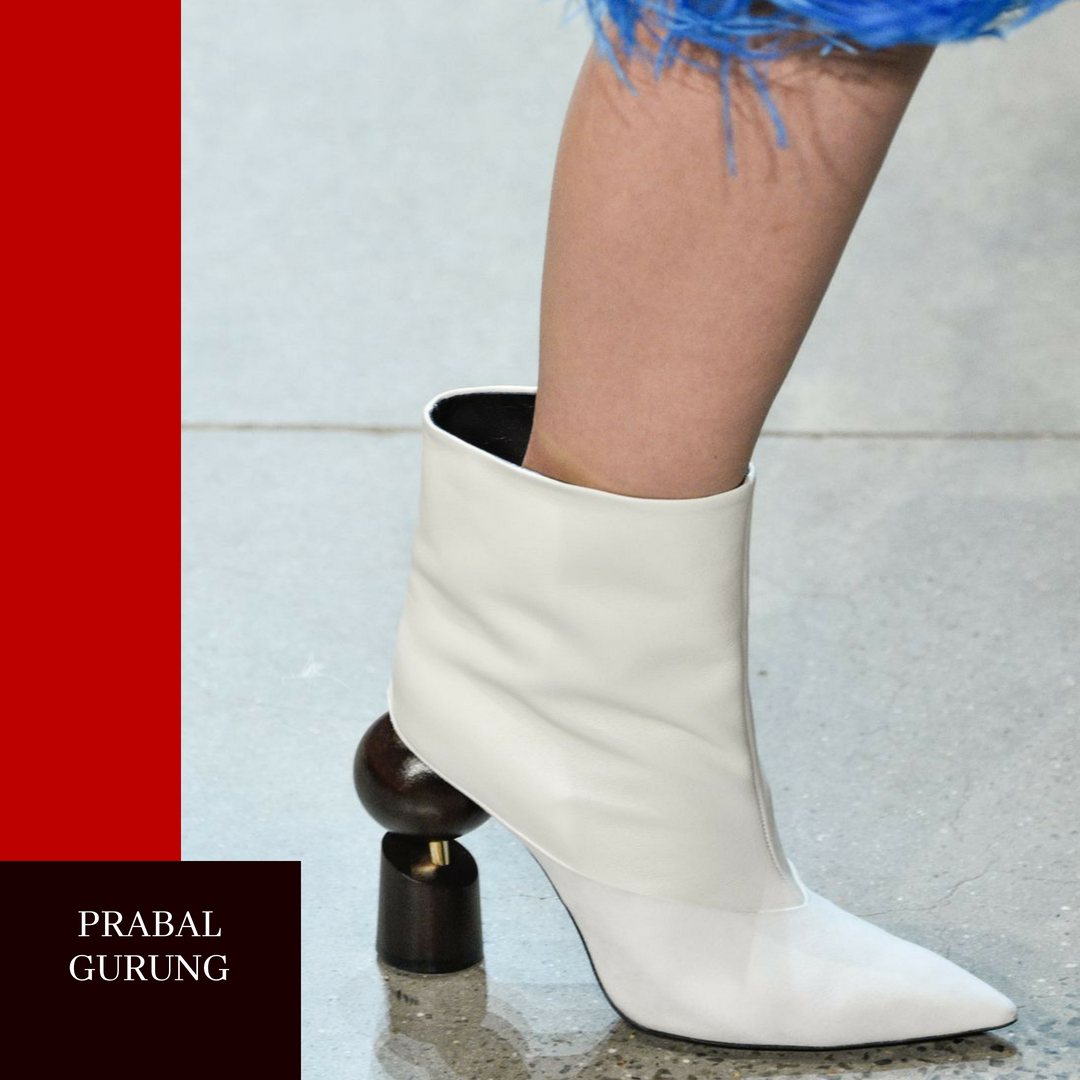 Prabal Gurung Look, designer Fall shoes, Getty Images