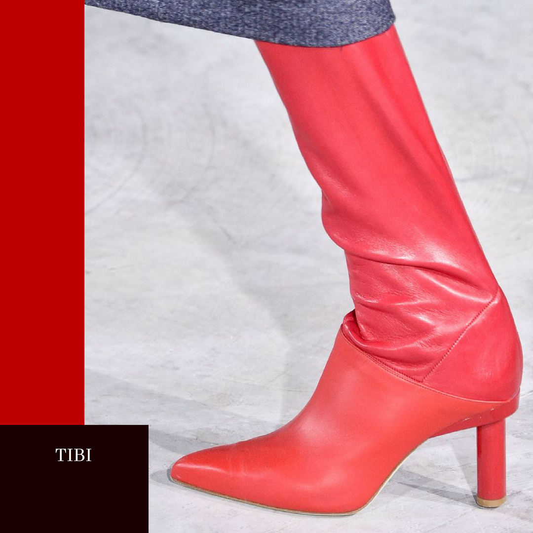 Tibi , designer Fall shoes, Getty Images