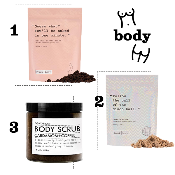 caffeine beauty products, body, causeandyette