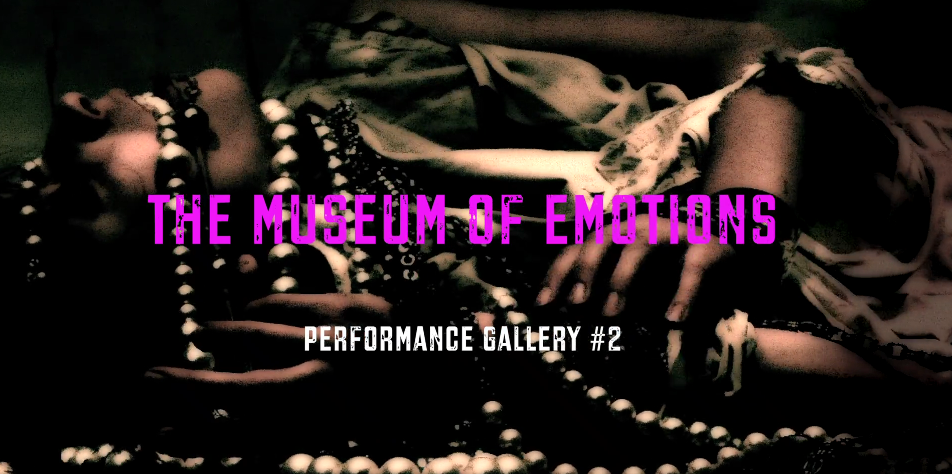 Asphalt, Muscle & Bone, Museum of Emotions, Performance Gallery #2, Film Still, Bill Hayward, cause and yvette