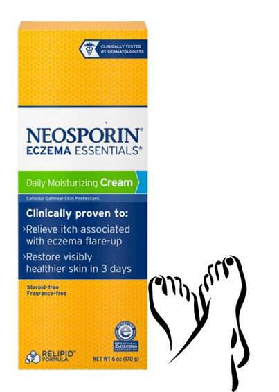 cause and yvette, Fall Pampered Feet, Neosporin Eczema Essentials